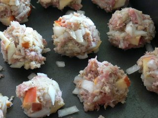 how to make stuffing balls with stuffing mix