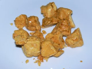 Cinder toffee