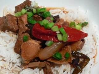 Chinese pork casserole