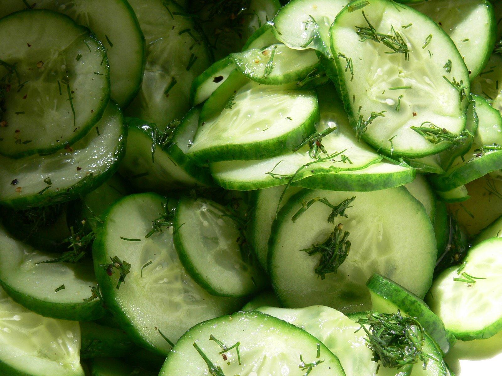 Cucumber Salad Recipe — Dishmaps