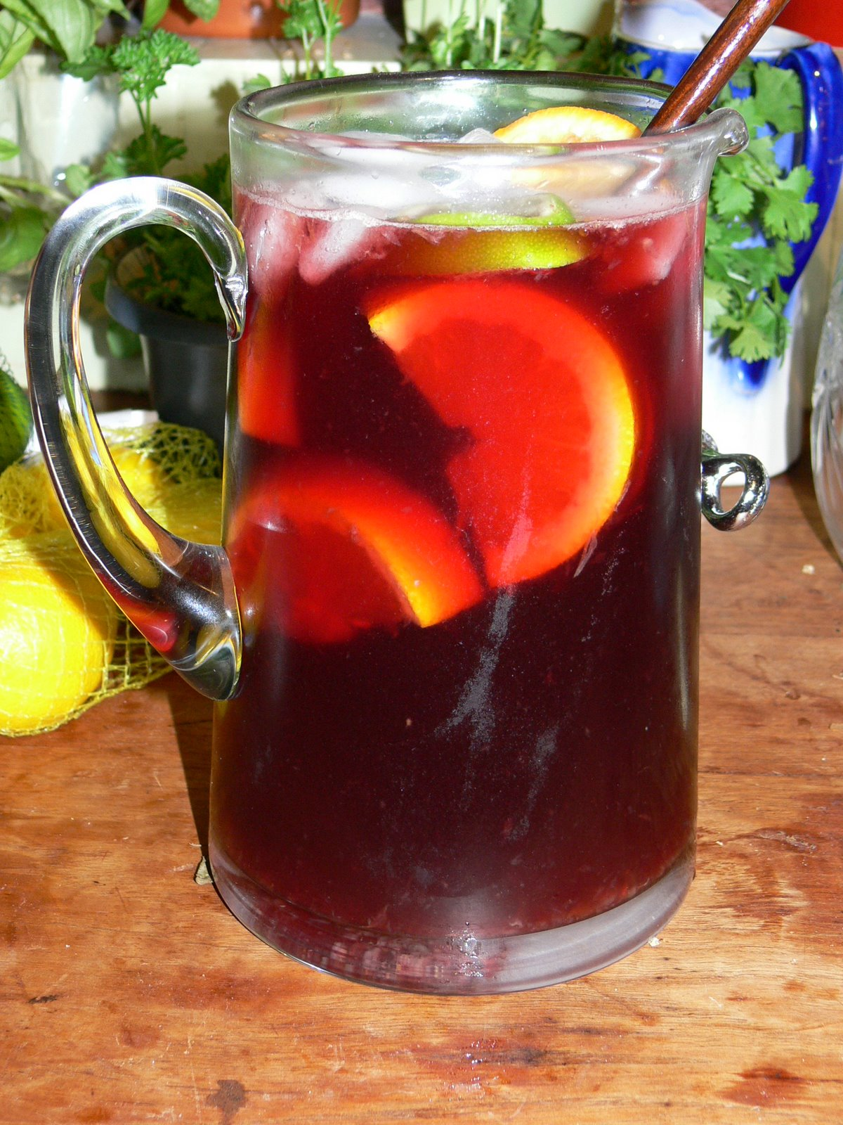 Sangria Sangria Recipe — Dishmaps