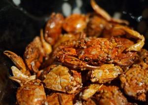 Caramel crabs